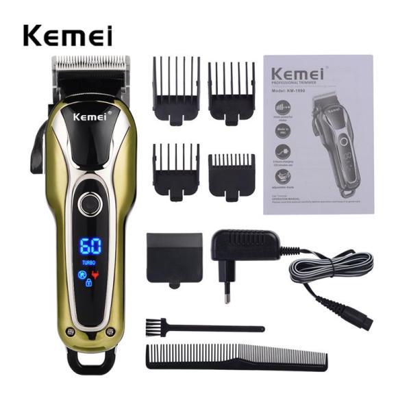 Tông đơ cắt tóc chuyên nghiệp KEMEI 1990 nhập khẩu