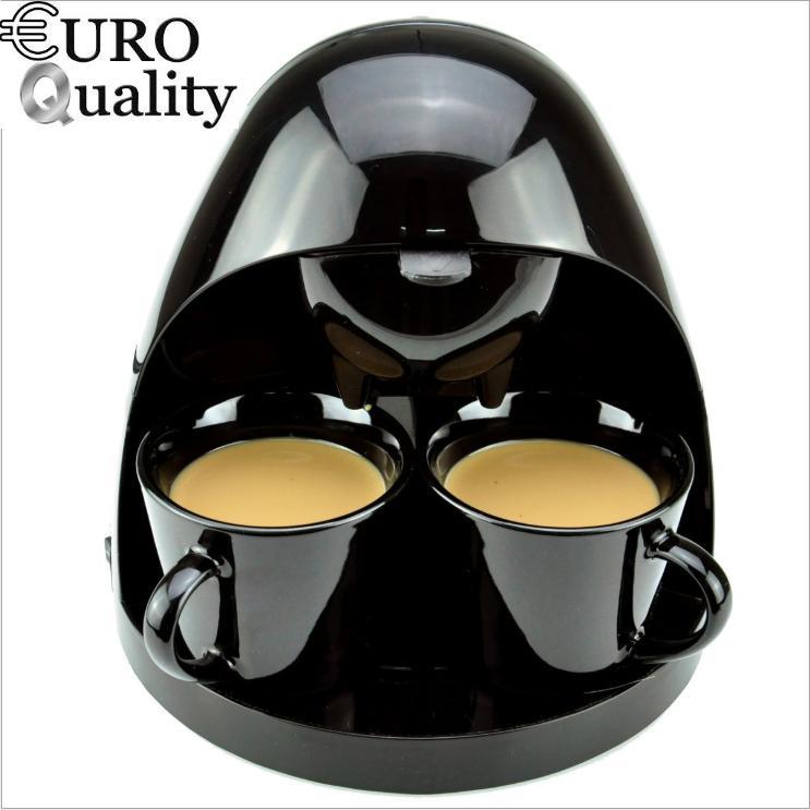 Khuyến mãi hấp dẫn Máy pha Coffee Dual Cup Best Mart Euro (Black) đánh giá - Giá chỉ 564.792đ
