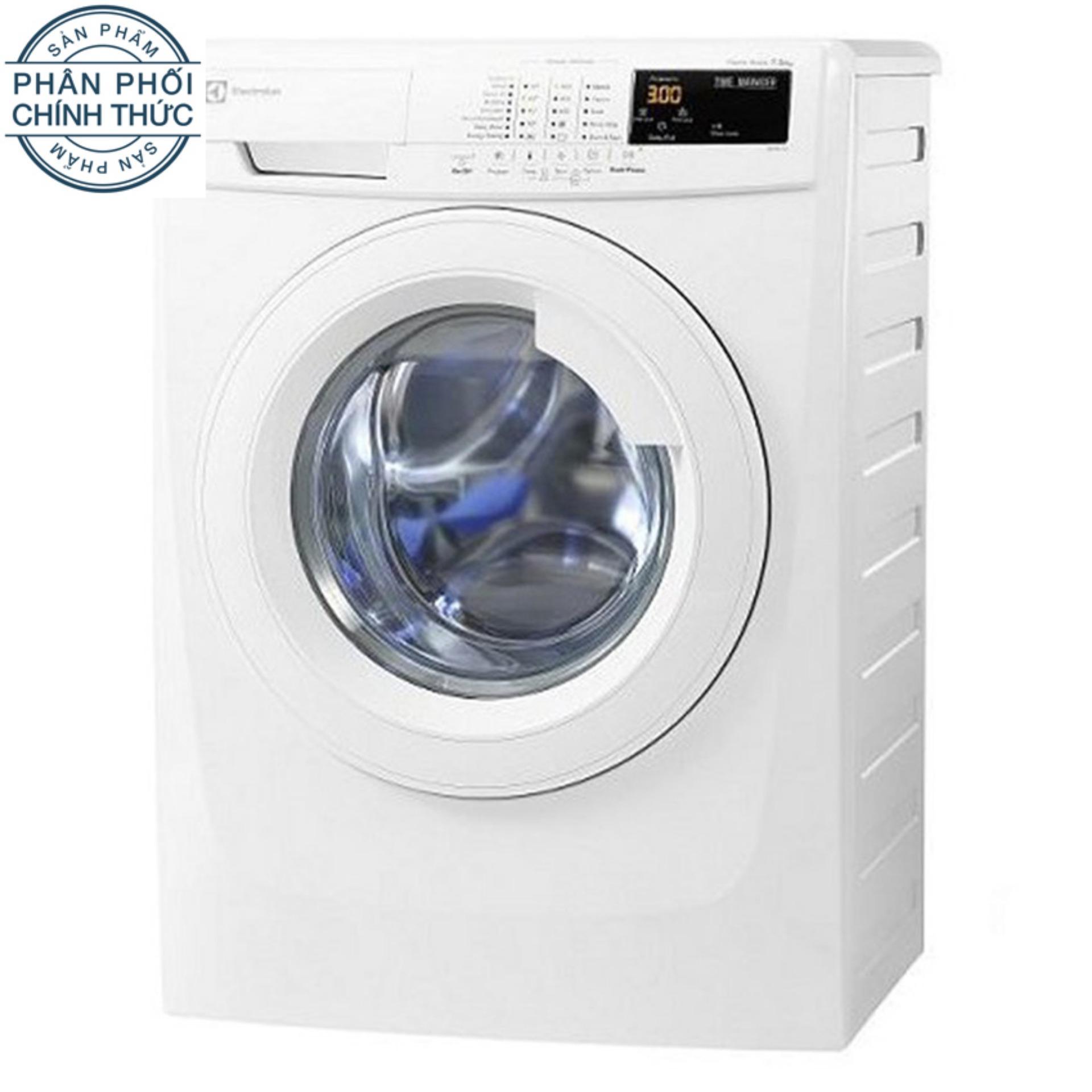 Hình ảnh Máy giặt cửa trước Electrolux EWF80743 7Kg (Trắng)
