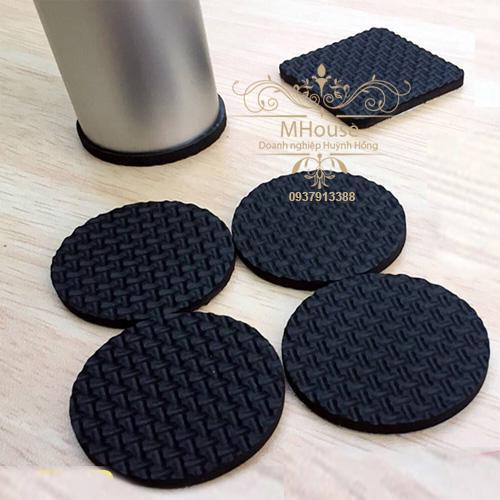 Hình ảnh Combo 8 cao su lót chân vật dụng chống trầy xước, giảm tiếng ồn