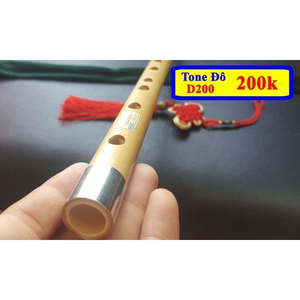 Sáo Trúc Mão Mèo D200 Tone Đô Cho Người Mới Học Thổi chất lượng cao