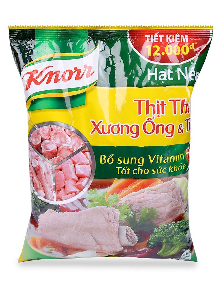 Hình ảnh Hạt Nêm Knorr Thịt Thăn, Xương Ống Và Tủy Gói 1.2 KG