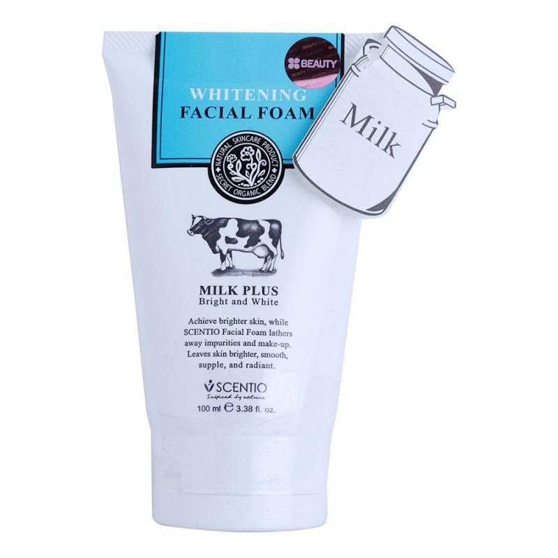 Sữa rửa mặt Milk Plus 100ml giúp dưỡng da, đắp mặt nạ nhập khẩu Thái Lan nhập khẩu