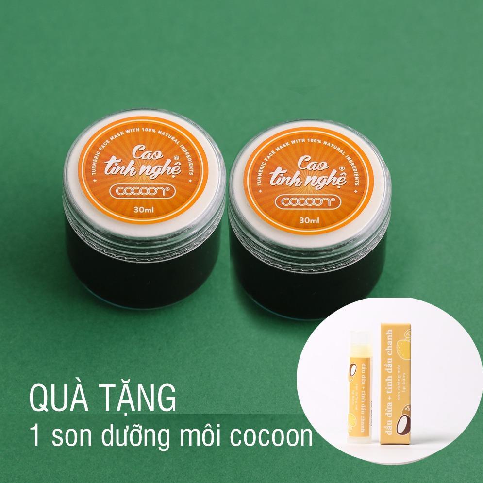Bộ Đoi Cao Tinh Nghệ Cocoon 30Ml Tặng 1 Son Dưỡng Moi Lip Balm Trong Hồ Chí Minh
