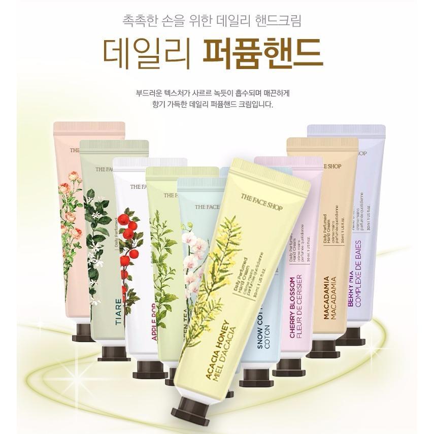 Kem Dưỡng Tay Daily Perfumed Hand Cream - KDTTFS01