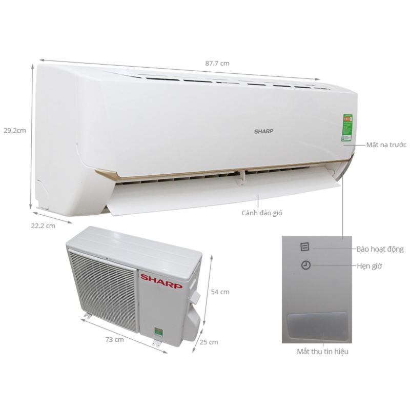Bảng giá Máy lạnh Sharp 1.5hp AH-A12SEW