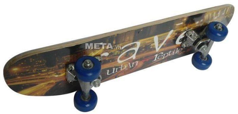Ván trượt patin cầu nhôm cỡ trung Y-8068 có bánh xe 2 hàng chắc chắn, linh hoạt