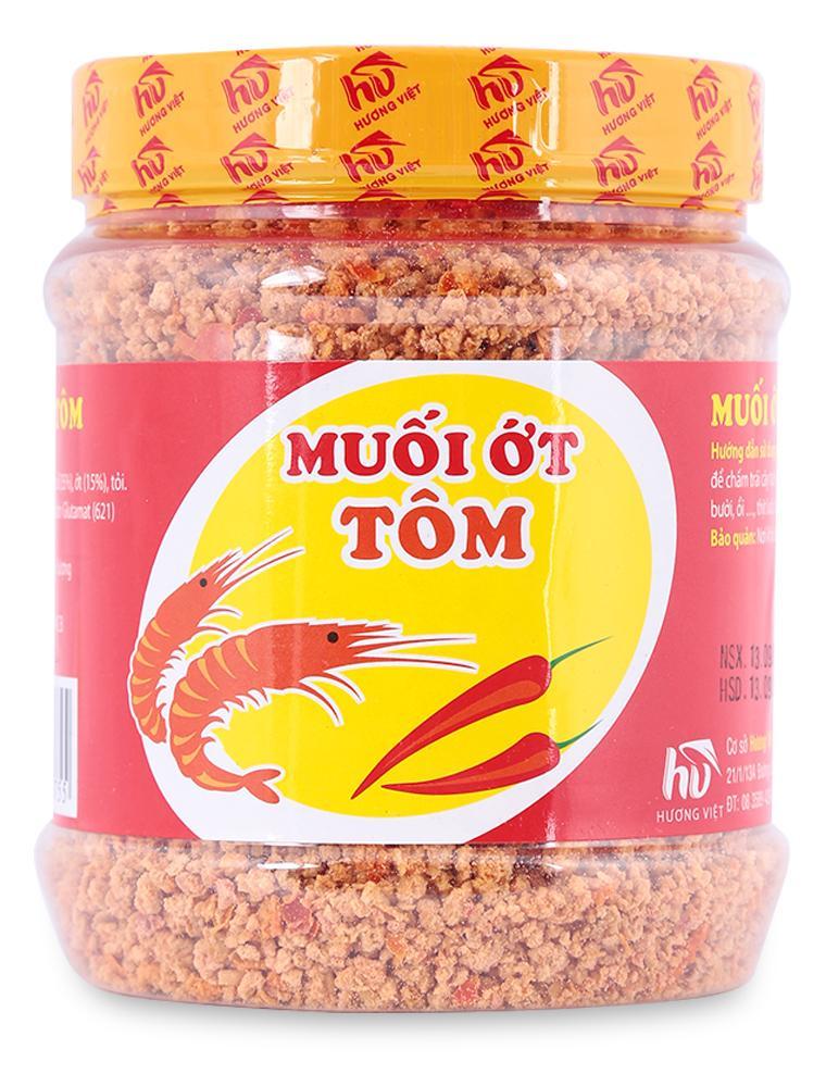 Muối Ớt Tôm Hương Việt 350G/ Hũ tốt nhất