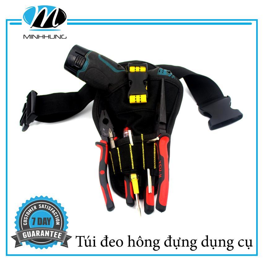 Đai đeo thắt lưng dắt đồ nghề Minh Hưng cho thợ sửa chữa điện, nước, điều hòa, camera