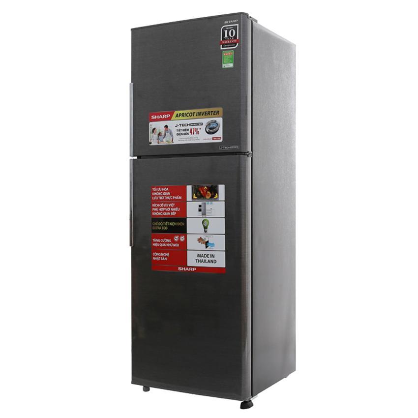 Tủ Lạnh Sharp Inverter SJ-X316E-DS, SJ-X316E-SL - 314 Lít (Bạc)