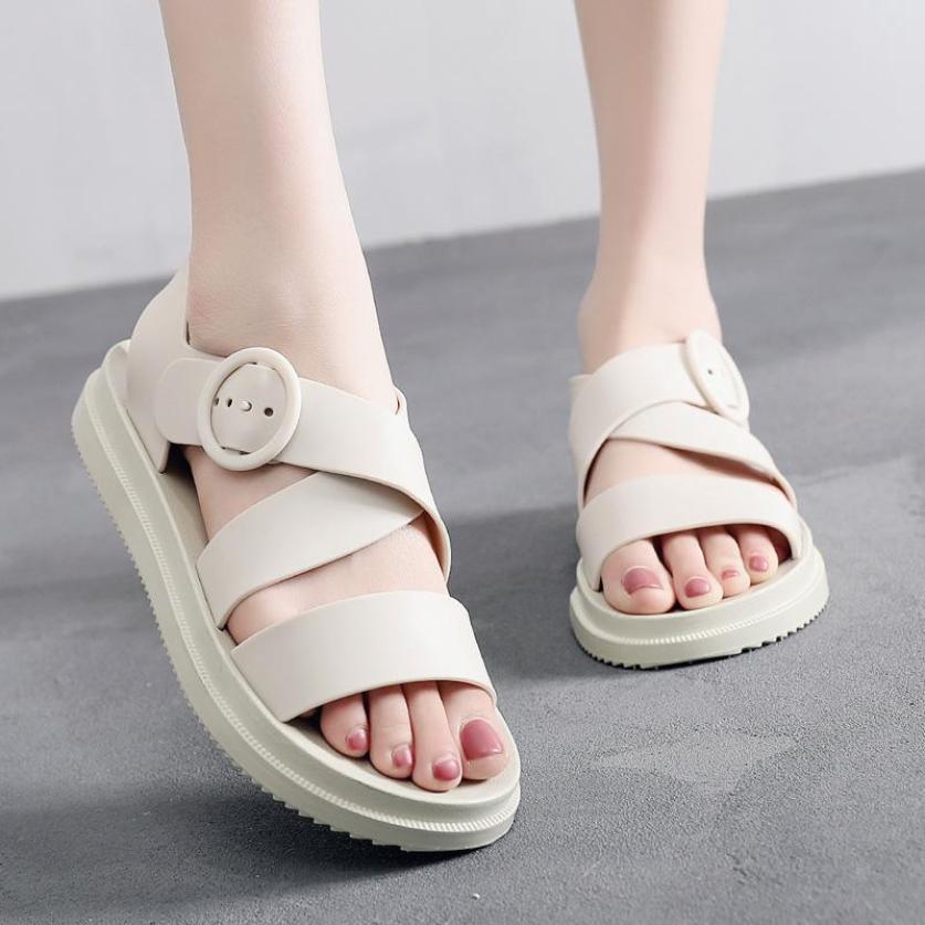 Sandal nhựa không thấm nước đa năng đi chơi, đi mưa, đi biển giá rẻ