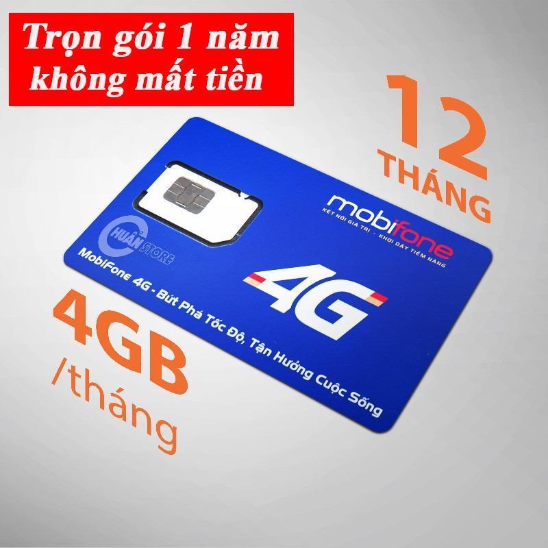 Chiết Khấu Hot 2018 Sim 4G Data Mobifone Mdt250A Trọn Goi Khong Cần Nạp Tiền 1 Năm Mobifone 4G