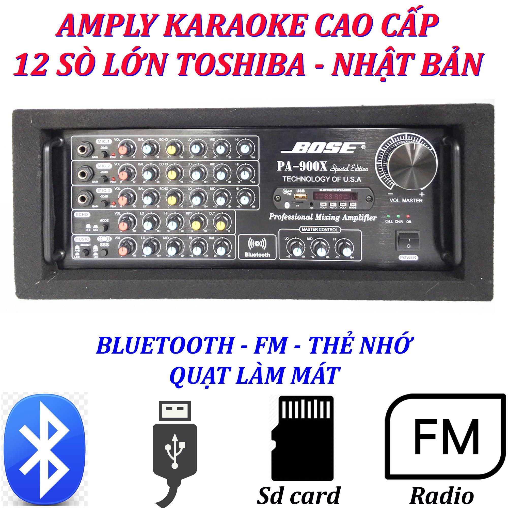 Hình ảnh Amply karaoke ampli karaoke amply bluetooth nghe nhạc cao cấp 900x