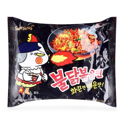 Combo 10 Gói Mì Khô Gà Cay SamYang Hàn Quốc 140g