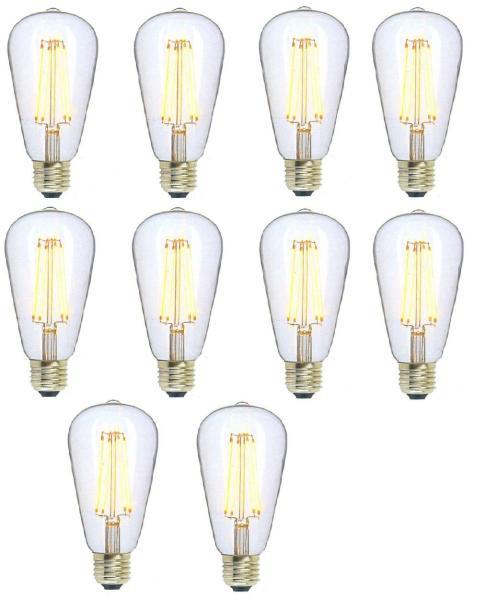 [HCM]10 BÓNG LED EDISON ST64