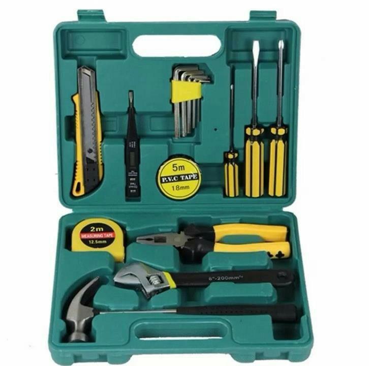 Bộ dụng cụ đồ nghề gia đình 15 món chi tiết