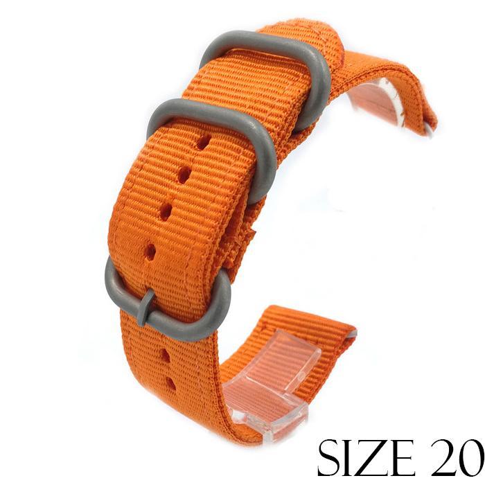 Hình ảnh Dây vải NATO 2 mảnh cho các loại đồng hồ Size 20mm