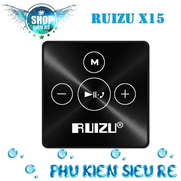 Máy nghe nhạc mp3 Ruizu X15 bộ nhớ trong 8G hỗ trợ thẻ nhớ lên đến 64G kết nối Bluetooth cao cấp
