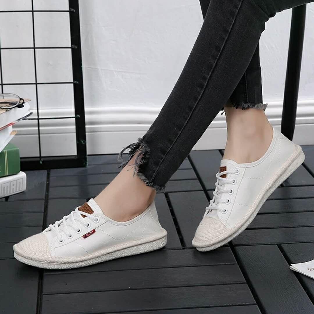 Giá Bán Giay Lười Slip On Style Korea Nhãn Hiệu Oem Korea
