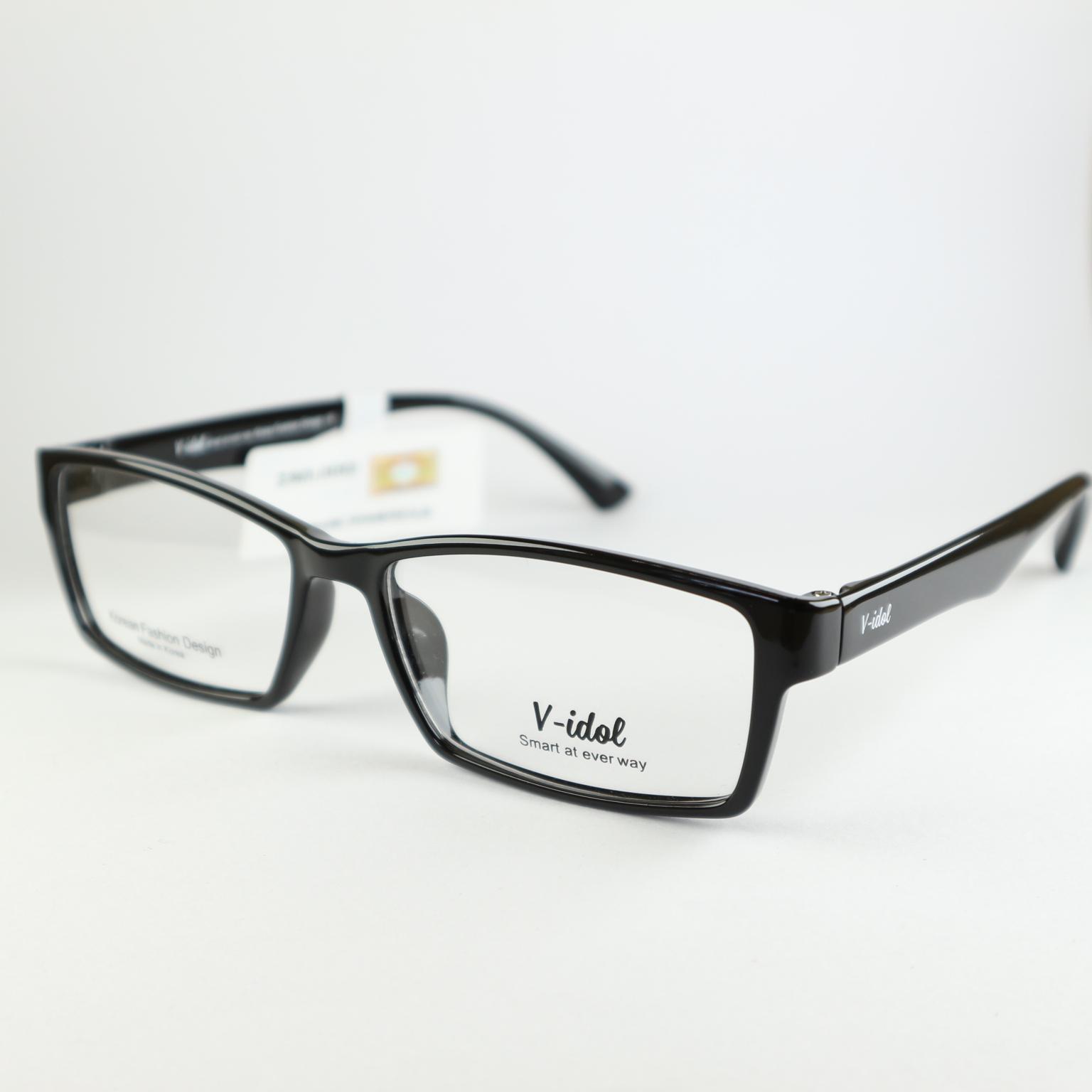 Gọng kính V-idol V8128 SBK ( màu đen )