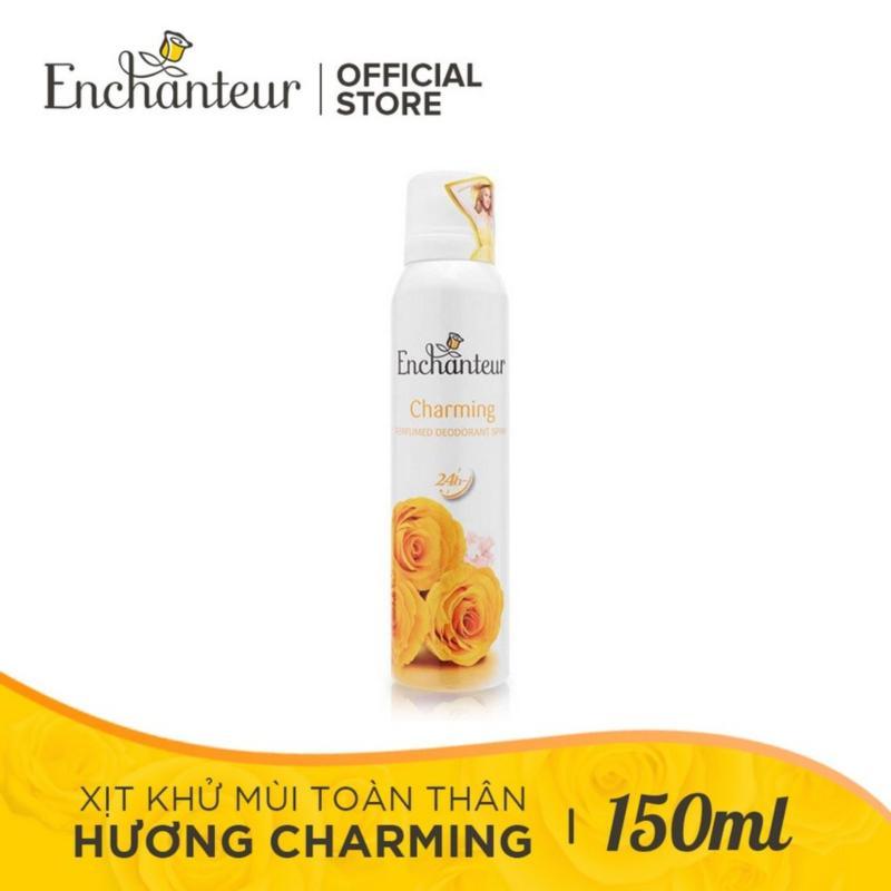 Enchanteur - Xịt khử mùi toàn thân Charming 150ml nhập khẩu