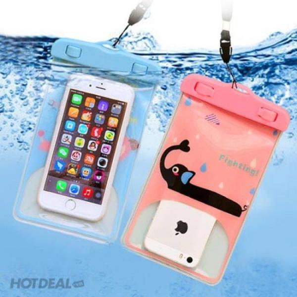 Túi đựng điện thoại chống nước hình ngộ nghĩnh