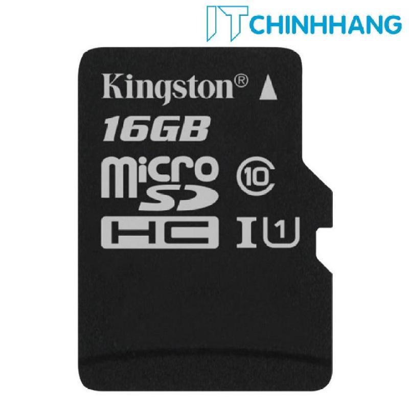Thẻ nhớ KINGSTON Micro SDHC 16GB Class 10 80MB/s