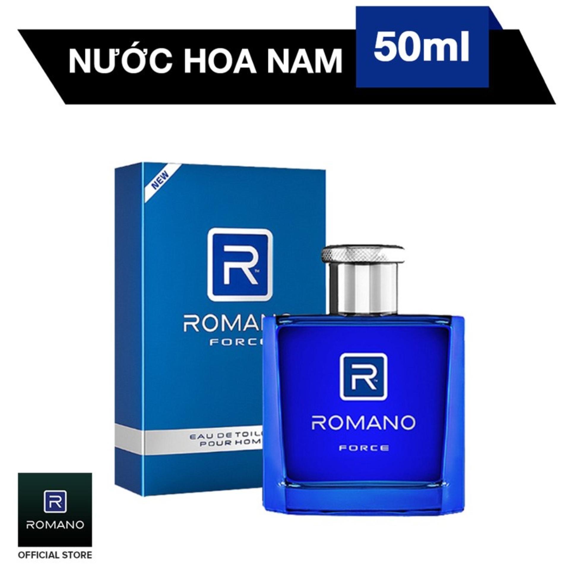 Nước Hoa Cao Cấp Dành Cho Nam Romano Force 50ml