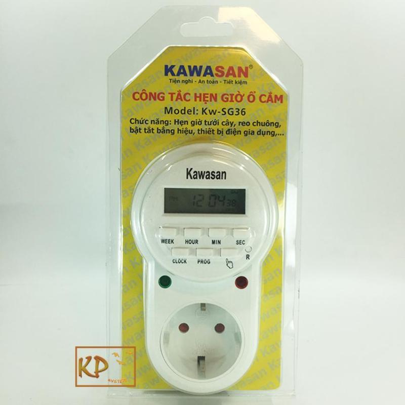 Công tắc thời gian dạng ổ cắm hẹn giờ dân dụng kawa SG36