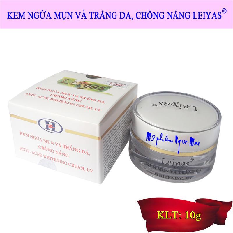 Kem ngừa mụn và Trắng da, Chống nắng Leiyas (10g) nhập khẩu