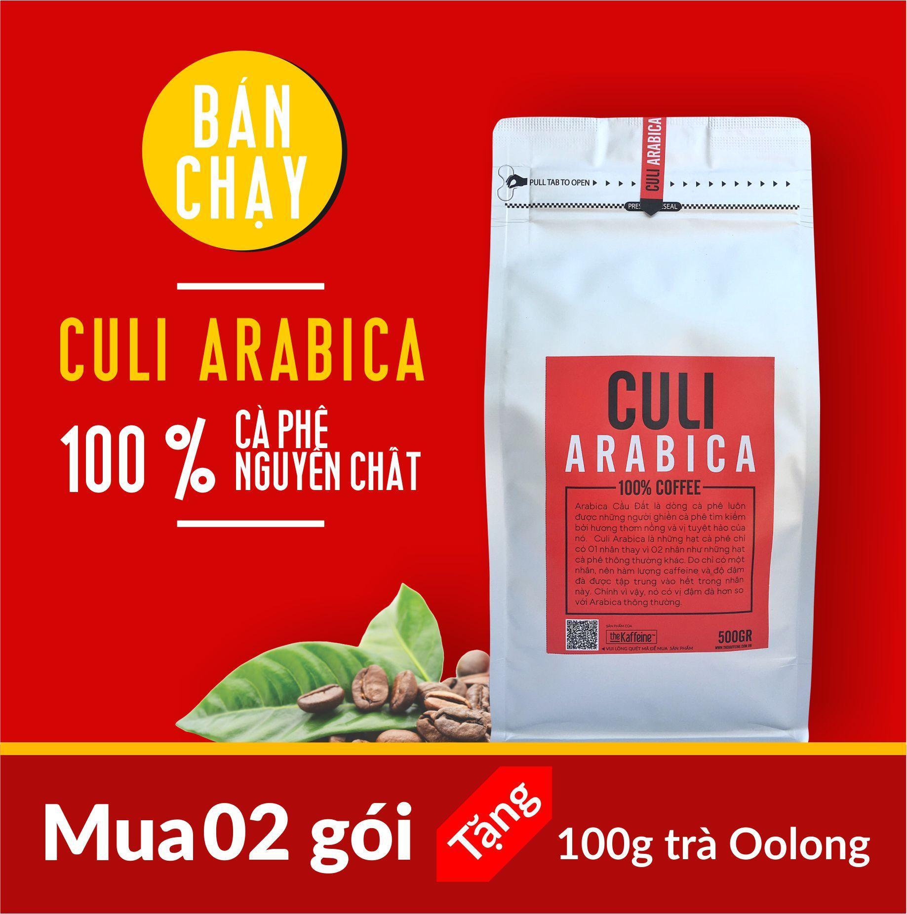 Bán Ca Phe Culi Arabica 500Gram The Kaffeine