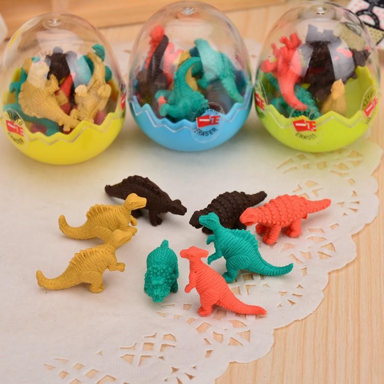 Mua Tẩy hình khủng long trong quả trứng