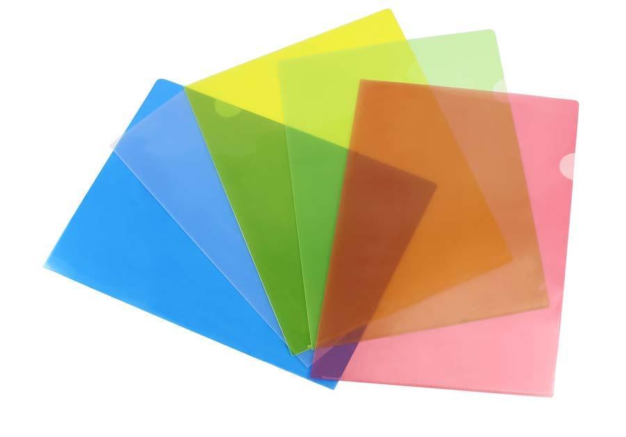 Mua Combo 10 cái Bìa  Lá A4 ( màu vàng, đỏ, xanh dương, xanh lá)