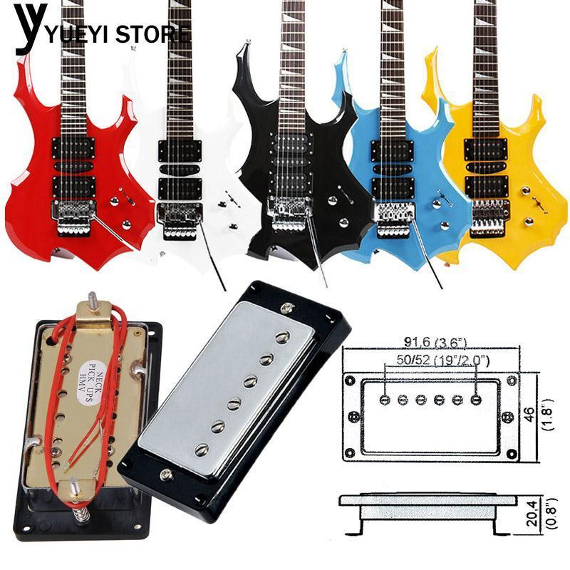 YYSL Guitar Sound Absorber Guitar Pickups 9.2*4.6*2.4cm Metal Music Play Ballad