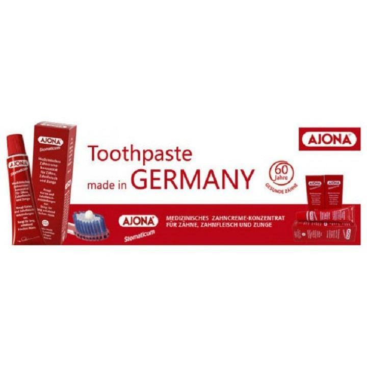 Kem đánh răng đặc trị cao răng AJONA của Đức
