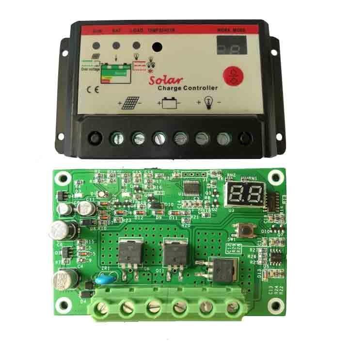 Hình ảnh Điều khiển sạc pin mặt trời 30A 12v/24V PWM
