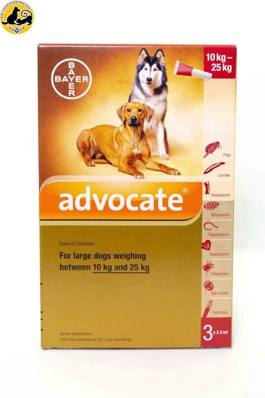 Nhỏ Gáy Trị Ký Sinh Chó Từ 10-25kg Advocate - Tuyp