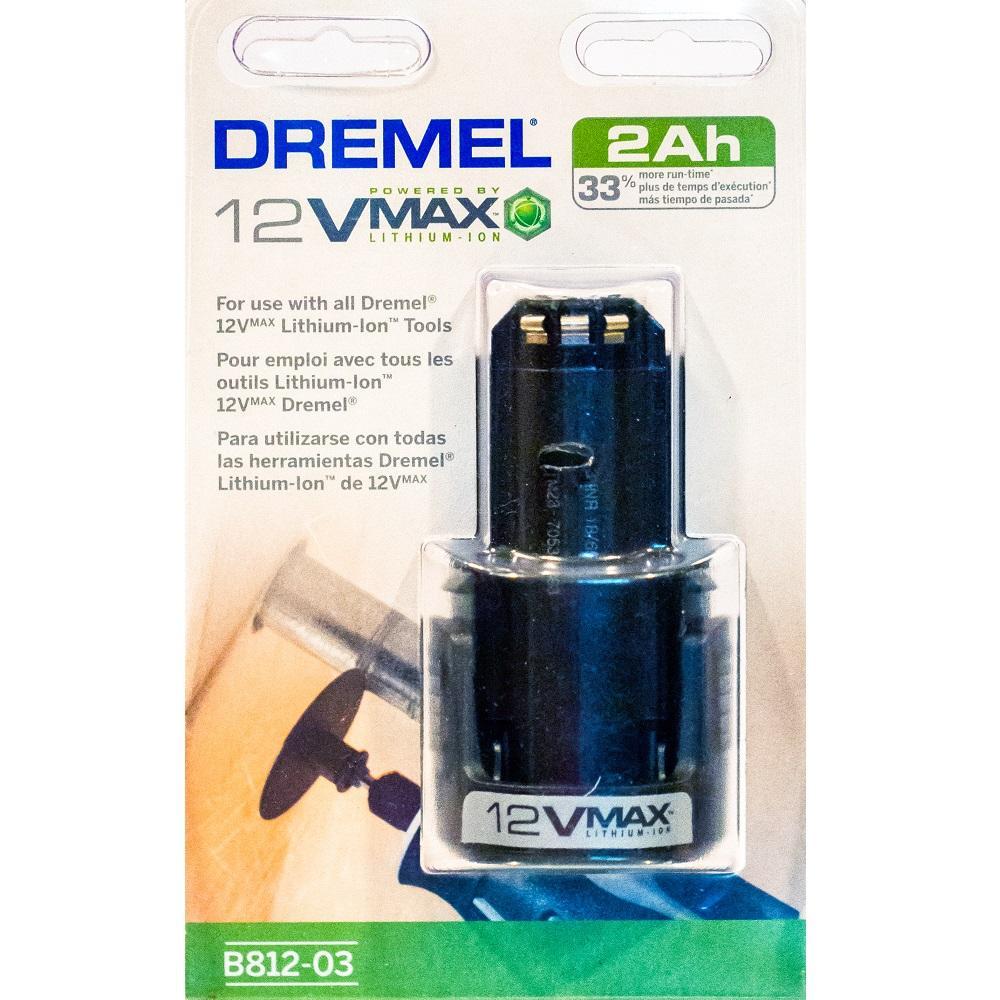 Pin lithium-ion 12V-2Ah Dremel B812-03