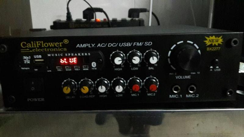 AMPLY KARAOKE MINI DC 12V USB - BLUETOOTH