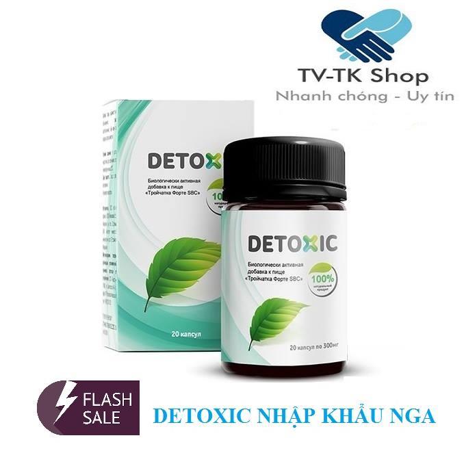 Thực Phẩm Bảo Vệ Sức Khỏe - Diệt Kí Sinh Trùng Detoxic 300g nhập khẩu