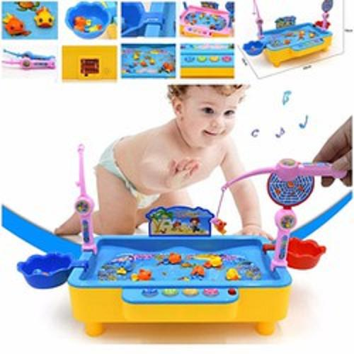 Hình ảnh Bộ bể câu cá điện tử - có phát nhạc cho bé