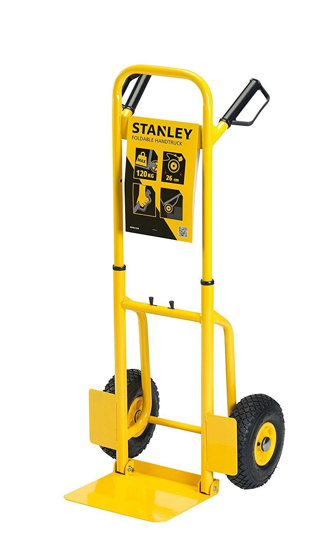 Xe đẩy tay 2 bánh cao cấp Stanley FT520 (tải trọng 120kg).