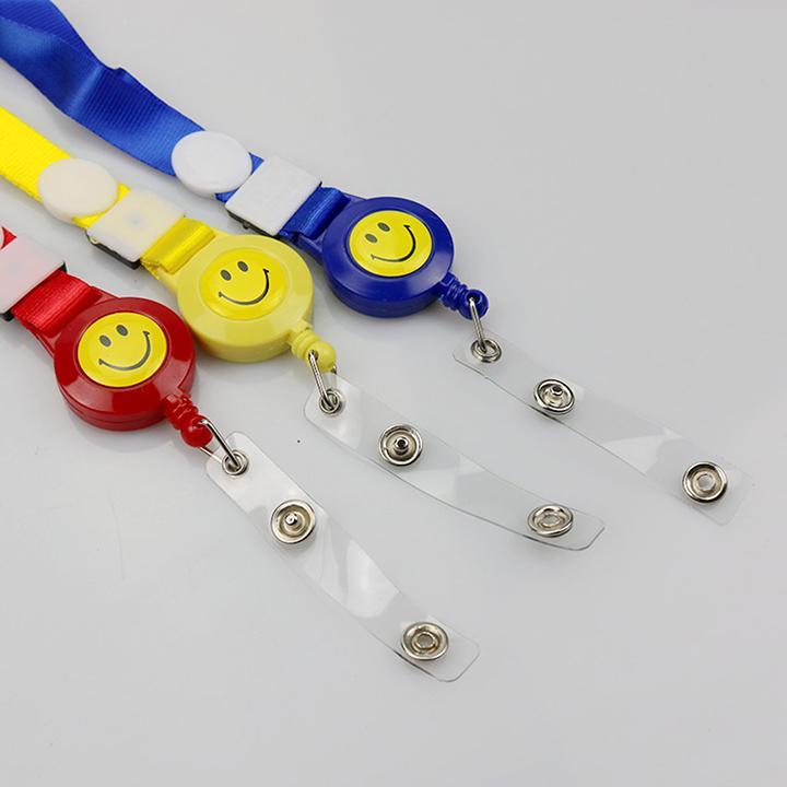 Mua Combo 2 Dây đeo thẻ smile móc dây rút cao cấp – Nhiều màu