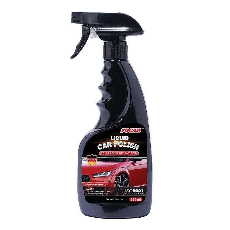 Dung dịch đánh bóng vỏ sơn Focar Liquid Car Polish 500ml