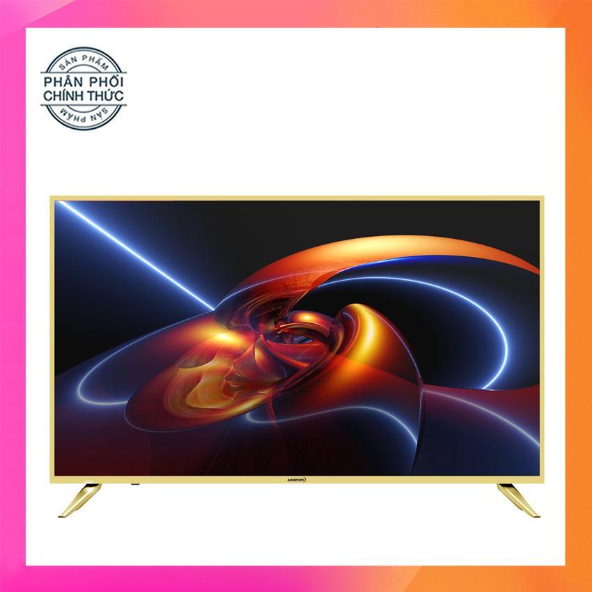 Hình ảnh Smart Tivi Led 43 inch Asanzo Full HD - Model 43AS520 (Vàng nhạt) Tích hợp DVB-T2, Wifi