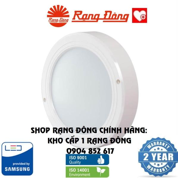 Đèn LED Ốp trần Rạng Đông 9W Փ160, ChipLED Samsung Model: D LN05L 160/9W