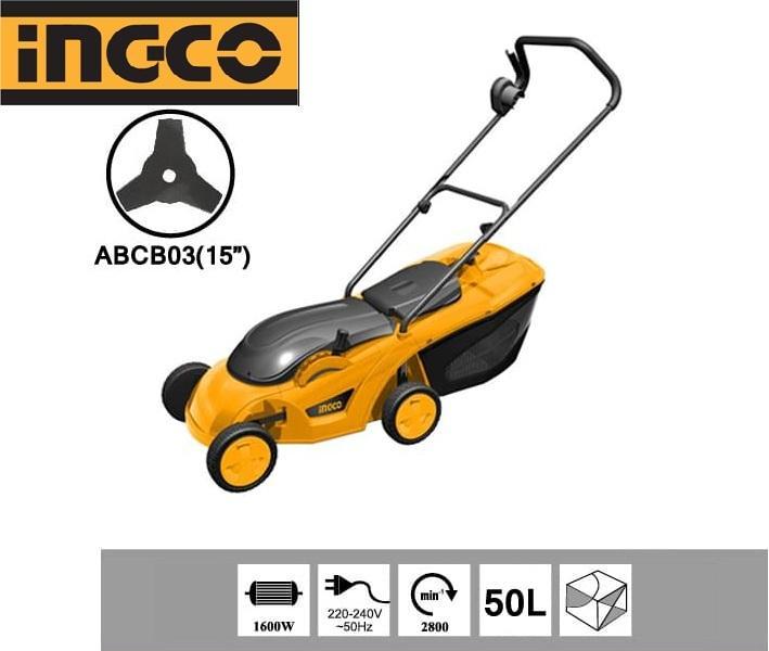 Máy cắt cỏ dùng điện Ingco 1600W LM383