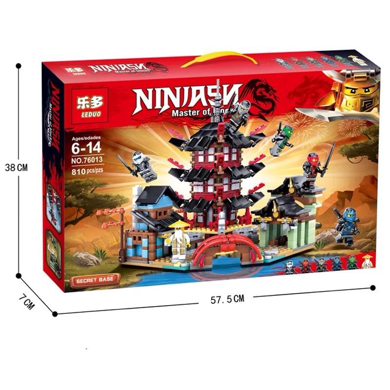 Hình ảnh Đồ chơi lắp ráp Lego NinjaGo Đền airjitzu - LEDUO 76013