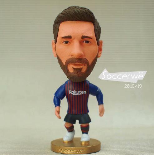 Hình ảnh Tượng cầu thủ Lionel Messi - Barcelona 2018