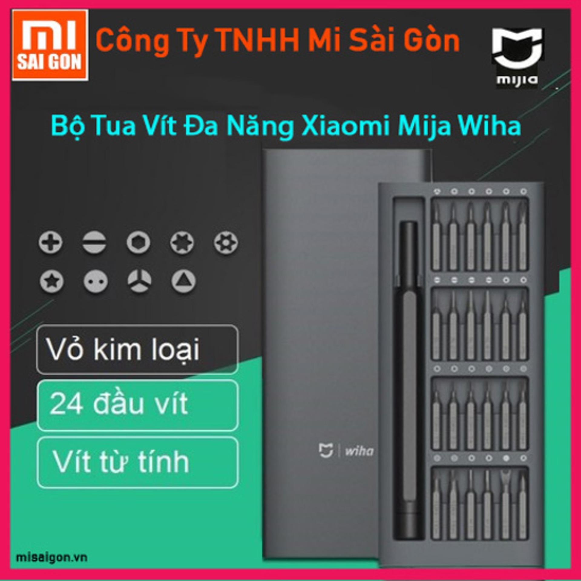 Hình ảnh bộ tua vít bỏ túi đa năng Xiaomi Mijia Wiha (Có nam châm hít)
